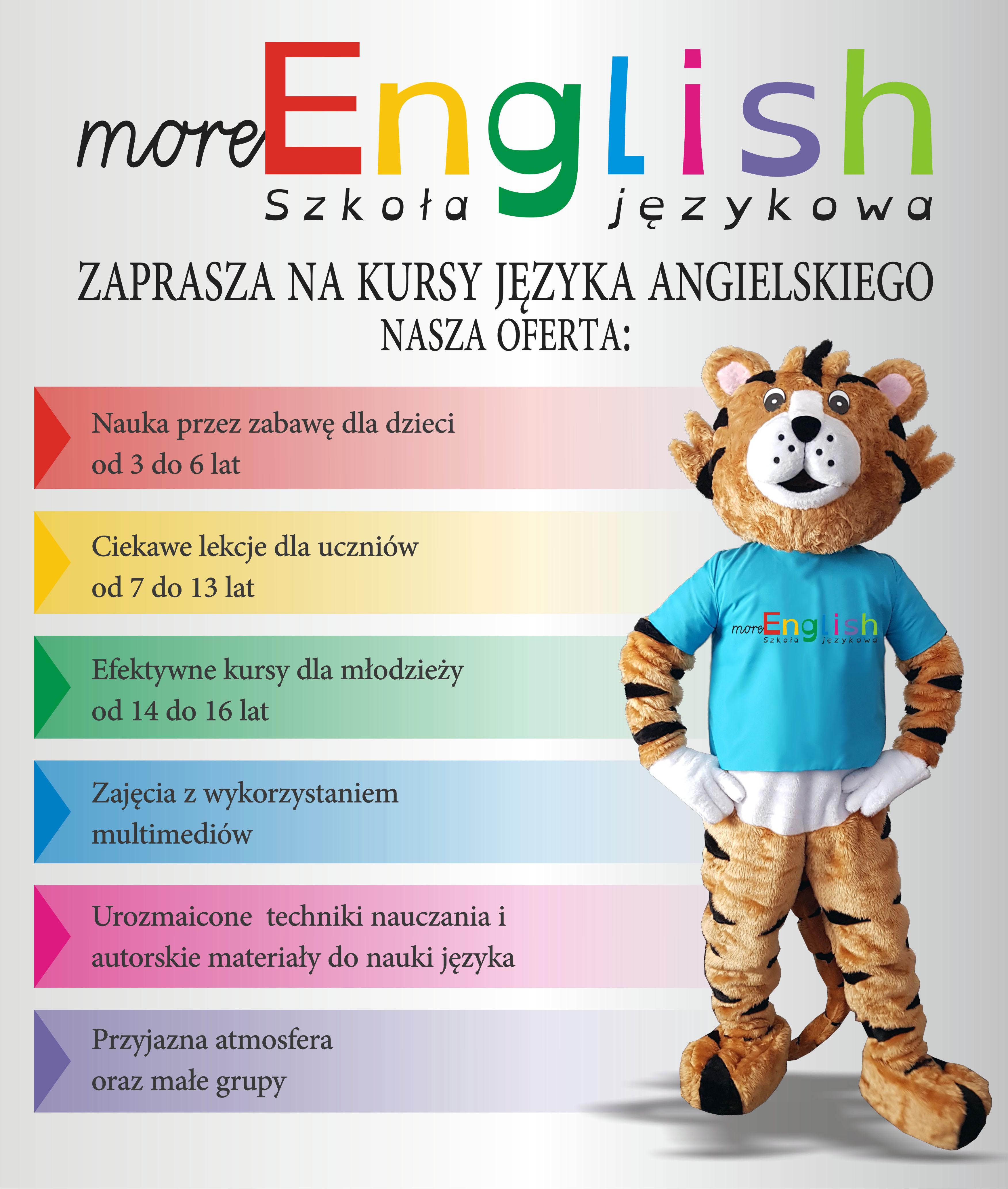 Zapisz się na kurs języka angielskiego w roku szkolnym 2018/2019