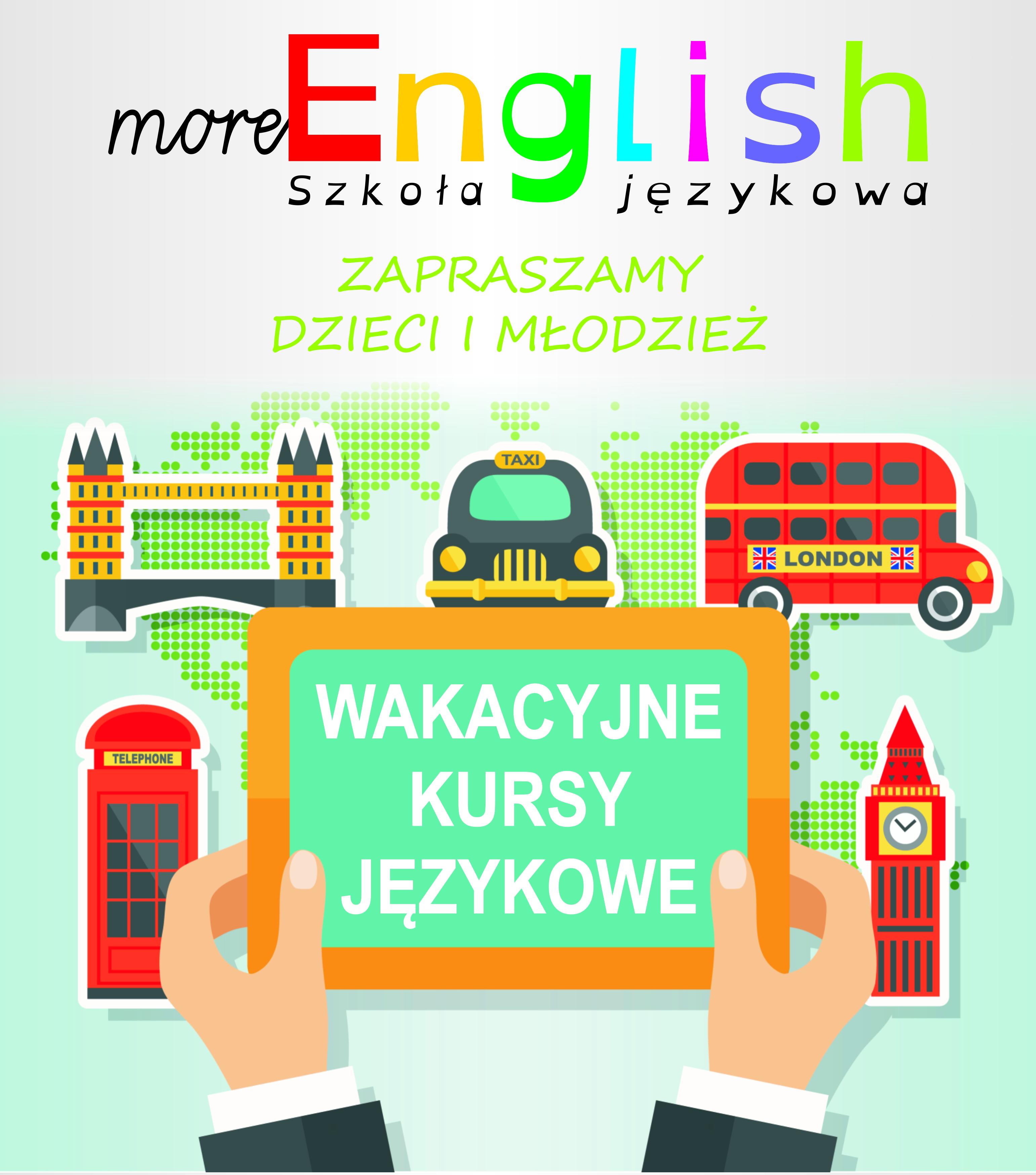 Zapraszamy na wakacyjne kursy języka angielskiego